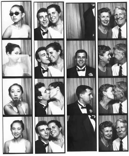 Old Fashioned Photo Booths   Junebug Weddings