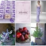 Purple Winter Wedding Color Palette with Matthew Mead Style