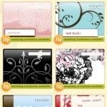 Stylish Wedding Websites from NearlyWeds.com
