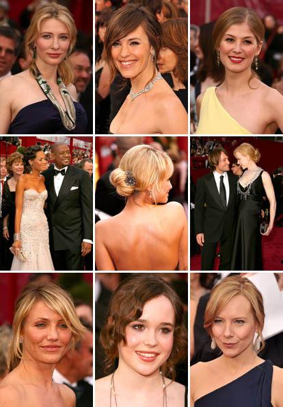 Wedding Hairstyles From Oscar S Red Carpet Junebug Weddings