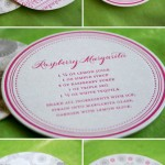 Recipe Wedding Favors, Cards and Coasters