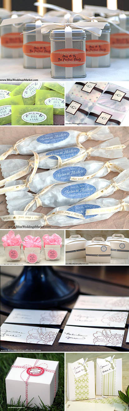 Wedding Favors Packaging And Diy Ideas From Bliss Weddings Market