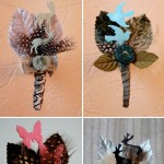 Creative Wedding Boutonnieres by Laurie Cinotto