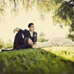 Real Weddings- Theresa and Dan