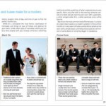 Junebug Book Preview- Tuxedos and Suits- Wedding Attire for Men