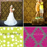 Photo Booth Backdrops from Drop It Modern
