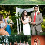 Junebug's Favorite Weddings – Caitlin and Vikrant's Indian and American Wedding