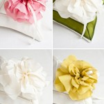 Floral Ring Bearer Pillows from Maihar Design