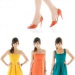 Pantone Color-Matched Bridesmaids' Dresses