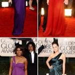 Red Carpet Dresses from the 2010 Golden Globes
