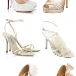 Stylish White Wedding Shoes