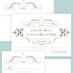 Studio Collection Wedding Invitations from Brown Sugar Design