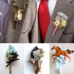 Alternative Wedding Boutonnieres from Fritts Rosenow