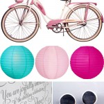 Romantic Bicycle Inspired Wedding Inspiration Board