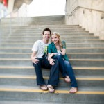 An Engagement Shoot Full of Fun from Seattle wedding photographer, Laurel McConnell