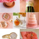Peach, Pink and Coral Wedding Inspiration Board