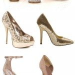 Las Vegas Wedding Style Inspiration – Glam Wedding Shoes!