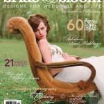 Elizabeth Messina's Bride & Bloom Magazine Cover Shoot