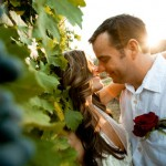 Fall Backyard Vineyard Wedding Style in Napa Valley, CA – Kirsten and Bryon