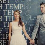 Junebug's Favorite Weddings – Lesley and Mike's Mid-Century Modern Wedding!