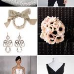 Junebug's Best Wedding Color Ideas – Black, White and Blush!