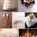 Junebug's Best Wedding Color Ideas – Cream and White Winter Wedding!