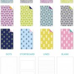 Cute Customizable Paper Notebooks and Wedding Planners from May Books