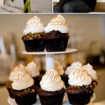 Happy Holidays! Chocolate Graham Cracker and Toasted Marshmallow Cupcakes from Trophy Cupcakes