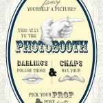 Vintage Style Wedding and Photo Booth Signs