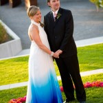 Ombre Wedding Inspiration! Colorful Wedding Decor and Fashion Ideas