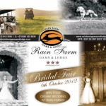 October 2012 Calendar of Wedding and Bridal Events