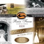 October 2012 Calendar of Wedding and Bridal Events