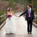Lake Tahoe Wedding from Catherine Hall Studios in Deep Jewel Tones – John and Jillian