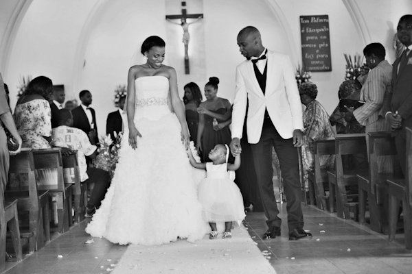 Angola, Africa Wedding with Photos by Melissa Jill Photography | via junebugweddings.com