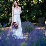 Lavender Farm Wedding Inspiration Photo Shoot by Verbena Floral Design