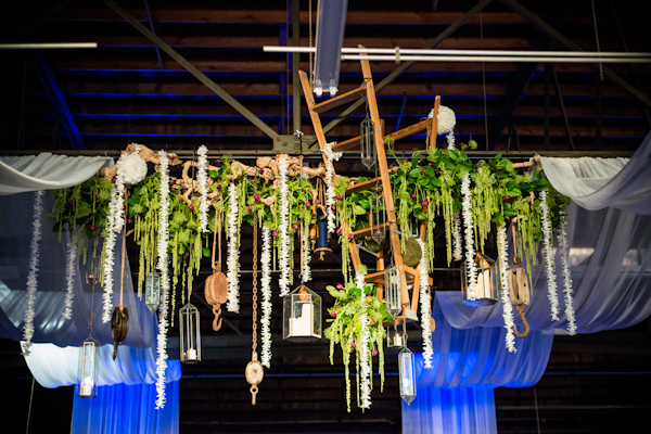 eclectic industrial inspired wedding by Thomas Bui Lifestyle | via junebugweddings.com