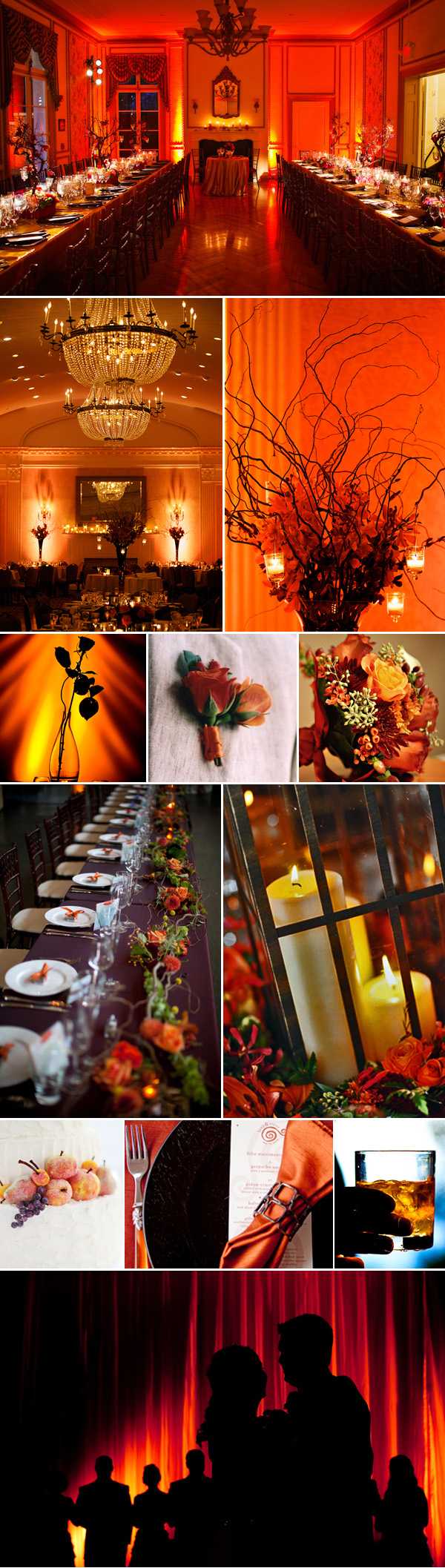 fall wedding inspiration board | via junebugweddings.com