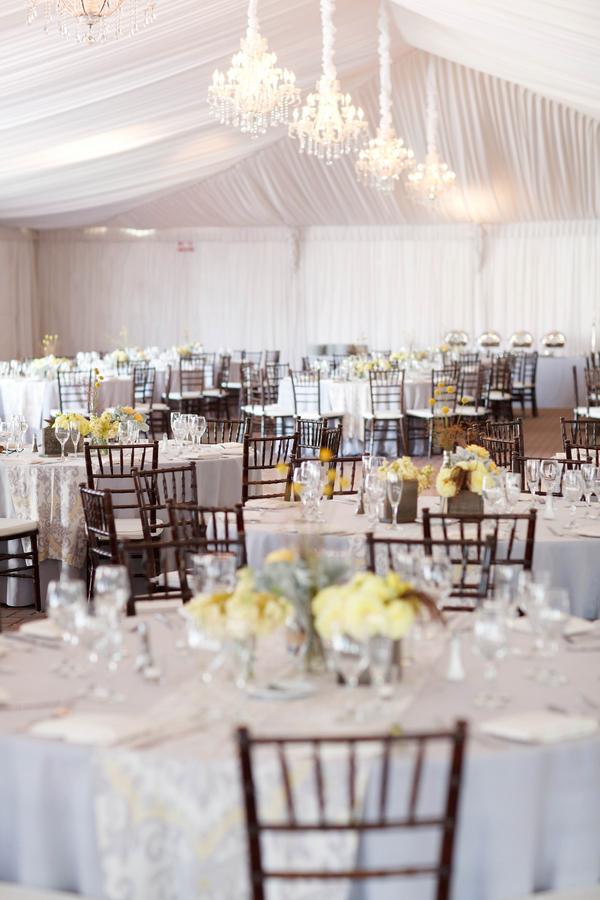 Grey And Yellow Wedding In Napa Valley Junebug Weddings
