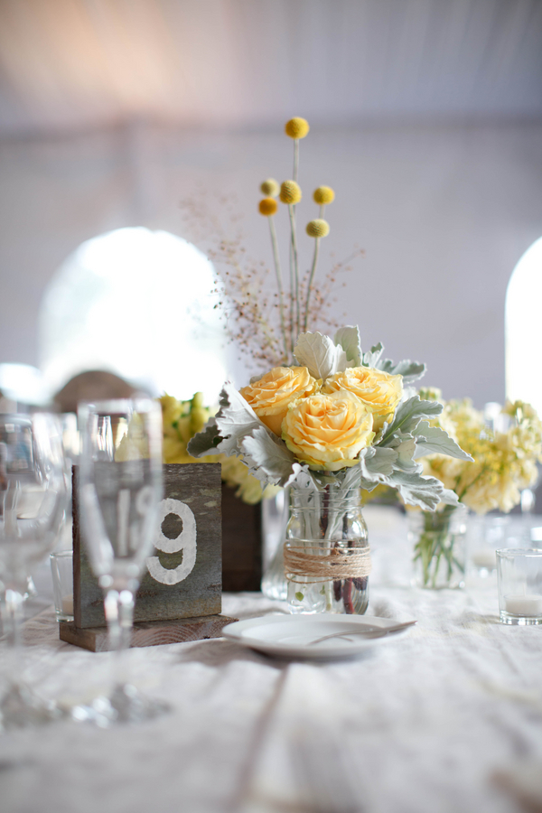 grey and yellow wedding in Napa Valley photos by K Stone Photography | via junebugweddings.com