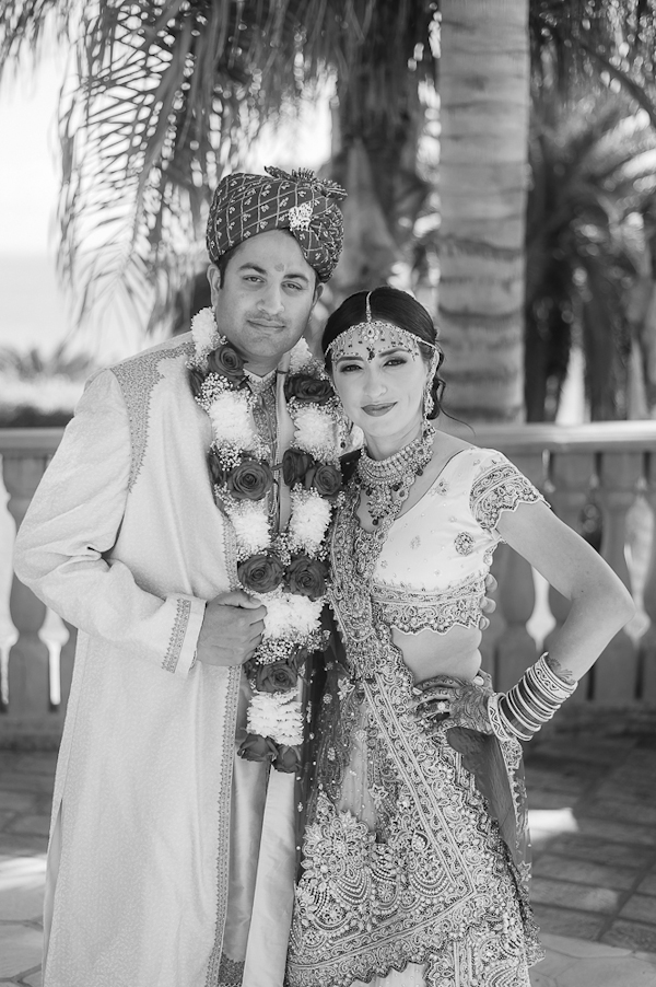 indian wedding at Bel Air Bay Club, designed by Exquisite Events, photos by Lin and Jirsa Photography | via junebugweddings.com