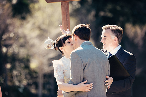 intimate wedding in Queensland, Australia with photos by Todd Hunter McGaw | via junebugweddings.com