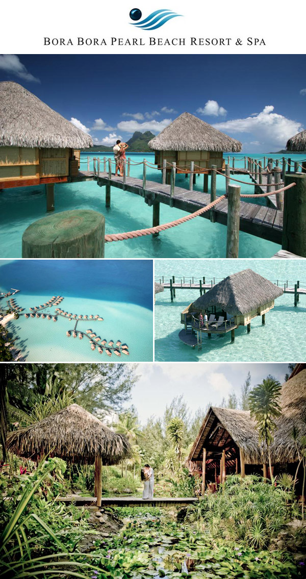 Win a honeymoon in French Polynesia from Junebug Weddings, the Moorea Pearl Resort & Spa and the Bora Bora Pearl Resort & Spa!