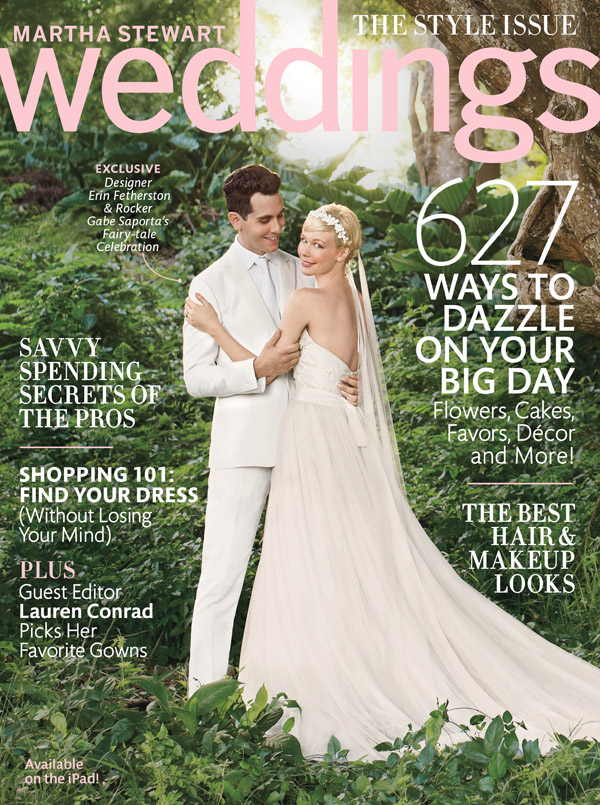 Erin Fetherston S Wedding From The Fall 2017 Issue Of Martha Weddings Magazine