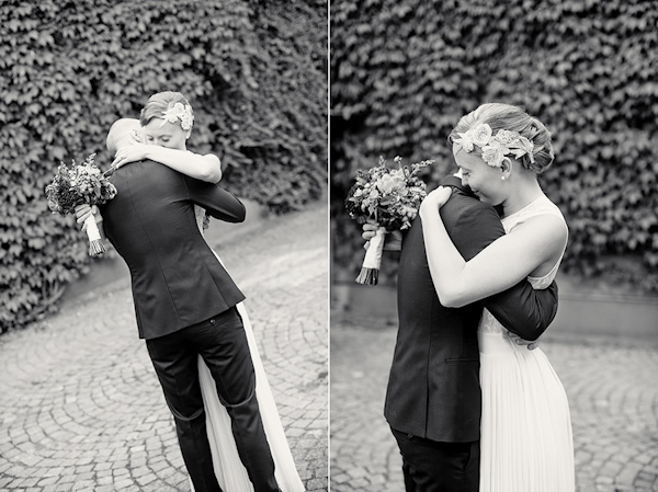 purple, burgundy, vintage wedding in Sweden, photos by Sweden wedding photographer Dayfotografi | via junebugweddings.com