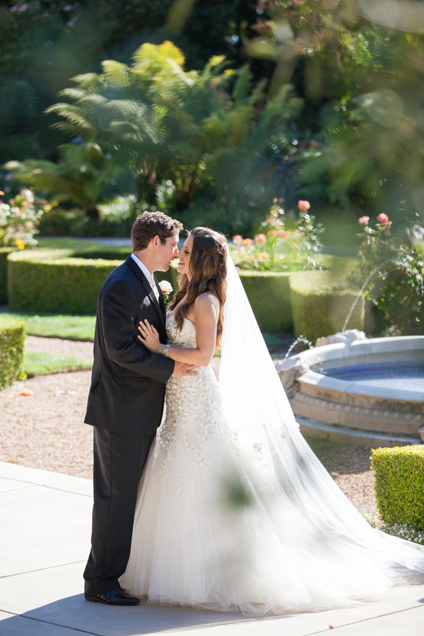 stunning private estate wedding in Santa Barbara with photos by Melissa Musgrove | via junebugweddings.com