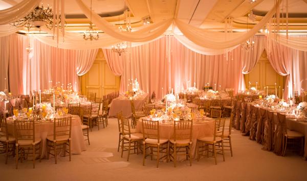 traditional romantic ballroom wedding at The Ritz Carlton, Washington D.C. with photos by Ira Lippke Studios | via junebugweddings.com