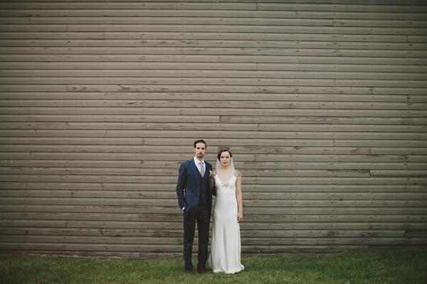 glamorous twenties rustic wedding in Alberta, Canada with photos by Gabe McClintock Photography | via junebugweddings.com