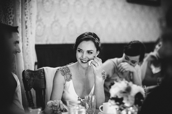 glamorous twenties rustic wedding in Alberta, Canada with photos by Gabe McClintock Photography | via junebugweddings.com