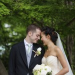 Mint, Gold, and Gray Traditional Japanese Wedding at The Ritz Carlton Tokyo