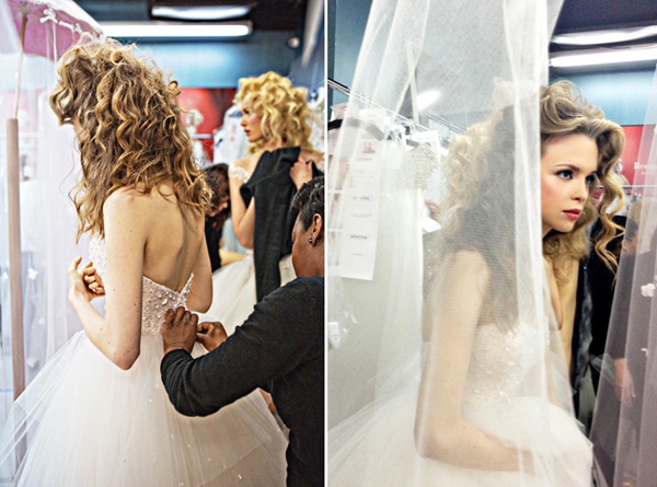 bridal market fashion report with Joy Marie Studios and Reem Acra | junebugweddings.com